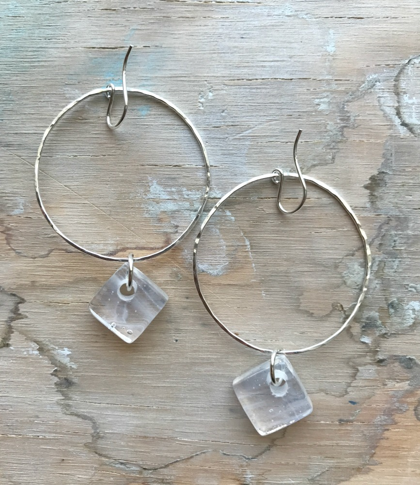 white-cube-sterling-hoops