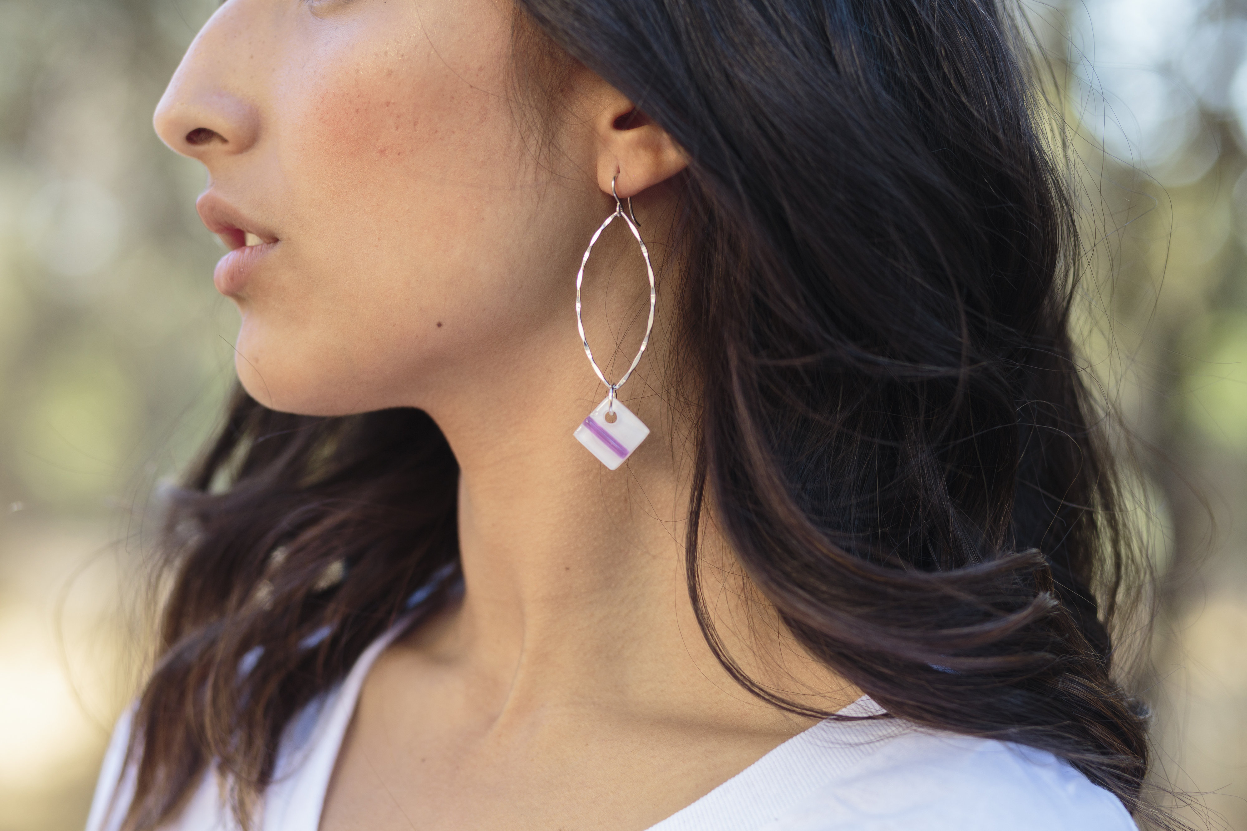 View More: http://mchambard.pass.us/grayc-glass-earrings