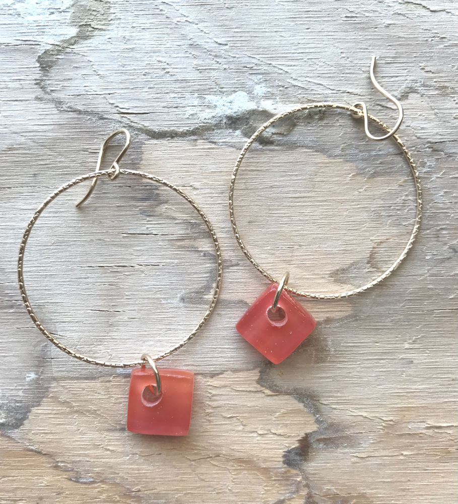 coral-cube-hoops-pretty